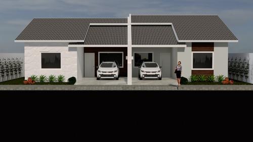 Imagem 1 de 6 de Planta De Casa 3 Quartos - Projeto Completo+aprovação Ea-134
