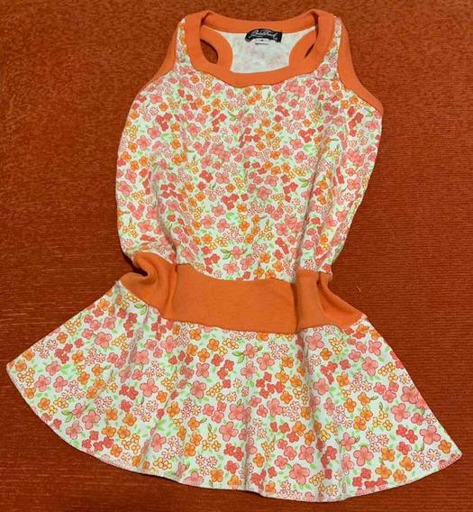 Vestido Solero Niña Algodón Floreado