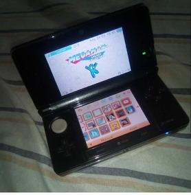 Nintendo 3ds Perolada Black, Desbloqurado + Caser Protetor