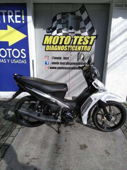 Yamaha Cripton 115 Modelo 2020 Km 18.437