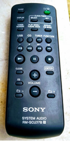 Controle Remoto Original Do Som Sony Sh-2000
