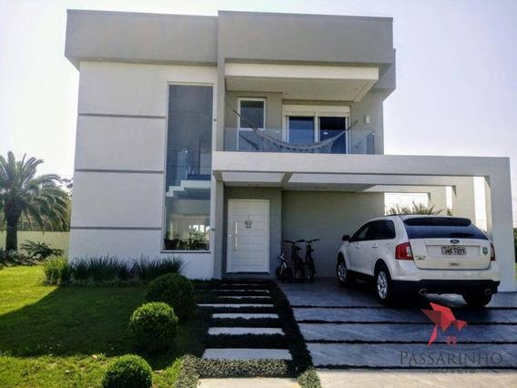 Sobrado Com 4 Dormitórios À Venda, 290 M² Por R$ 1.600.000,00 - Praia Itapeva - Torres/rs - So0095