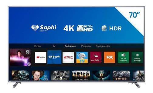 Smarth Tv Led Uhd 4k 70 Philips, Wi-fi Integrado, Usb, Hdmi