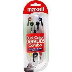 Fone De Ouvido Dual Color Combo1 346190 Maxell