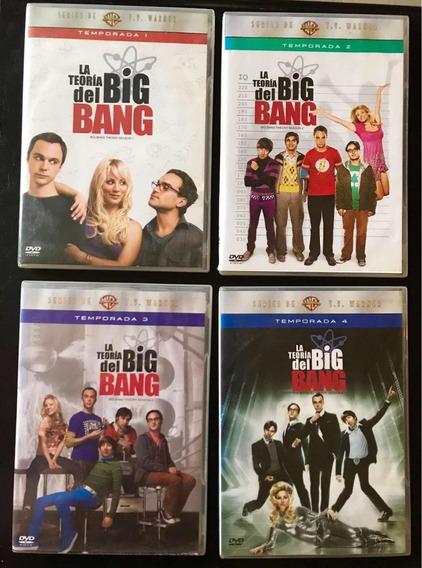The Big Bang Theory Dvds 4 Primeras Temporadas
