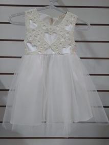 Vestido De Batizado Branco