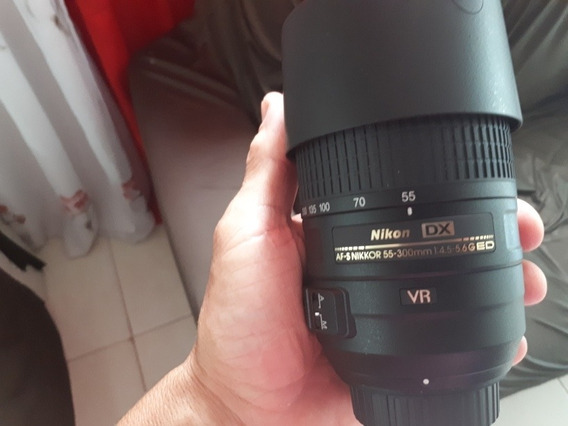 Lente De Longo Alcance Nikon 55-300mm