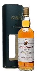 Whisky Mortlach 15 Años, Embotellado Por Gordon & Macphail.