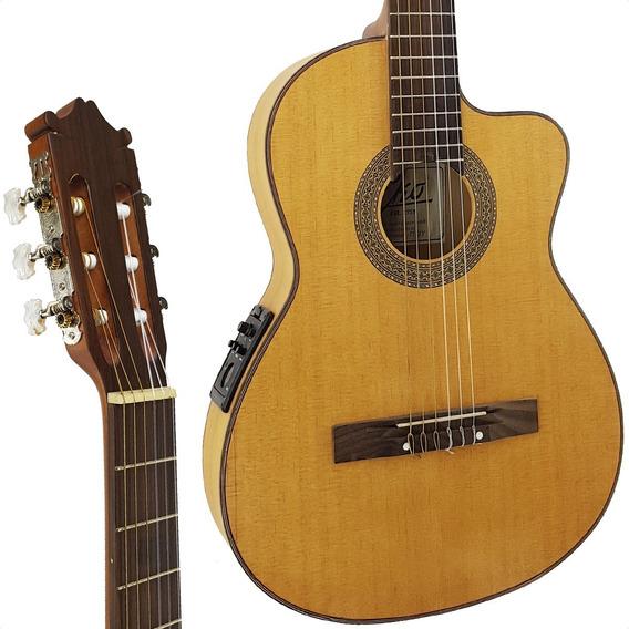 Guitarra Electrocriolla Con Corte Concierto Maciza Eko Envio