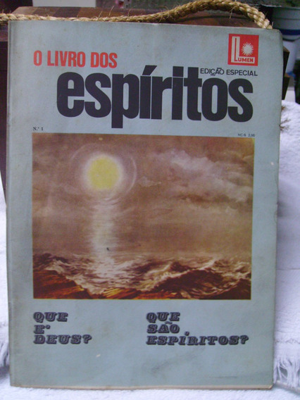 Revista Antiga - Edição Especial Nº 01 O Livro Dos Espiritos
