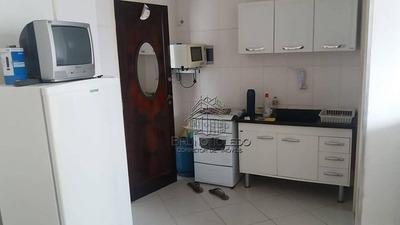 Kitnet Com 1 Dormitório À Venda, 26 M² Por R$ 120.000 - Cidade Ocian - Praia Grande/sp - Kn0008