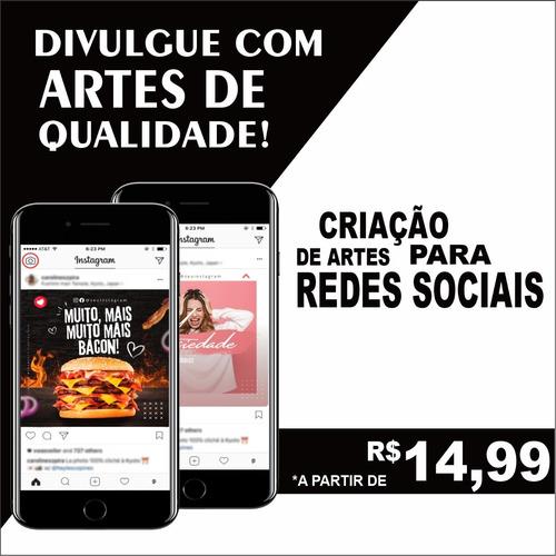 Imagem 1 de 5 de Artes Redes Sociais