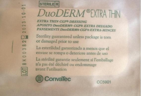 Aposito Duoderm Hidrocoloide , Ulceras, Escaras Quemaduras