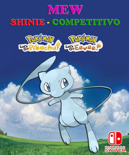 Mew Shiny / Evento Poké Ball Plus - Pokémon Let