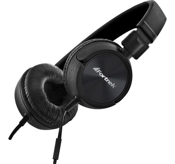Fone Ouvido C/ Microfone Headphone Hmf501 Profissional