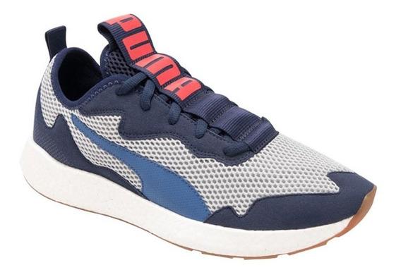 Tenis Deportivo Para Correr Puma Nrgy Neko Skim 2102 Azul