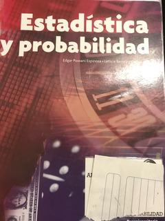 Estadística Y Probabilidad Edgar Possani