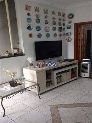 Sobrado Com 2 Dormitórios À Venda, 117 M² Por R$ 550.000 - Boqueirão - Santos/sp - So0696