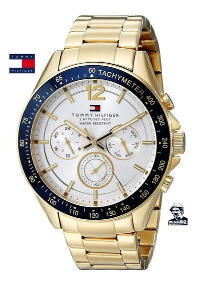 Reloj Tommy Hilfiger Luke 1791121 En Stock Original Garantia