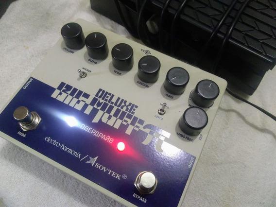 Pedal Fuzz Ehx Big Muff Sovtek Deluxe + Expressão R$ 850