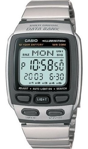 Relógio Casio Db-37hd-7av Databank Original Novo Em Vitória