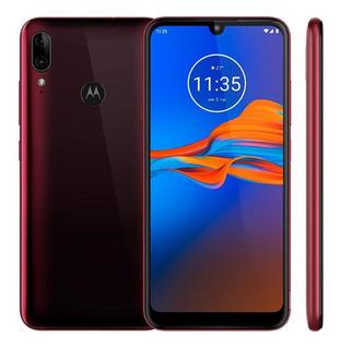 Smartphone Motorola E6 Plus Xt2025-1 32gb Rubi