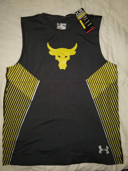 The Rock Project Under Armour Playera Sin Mangas