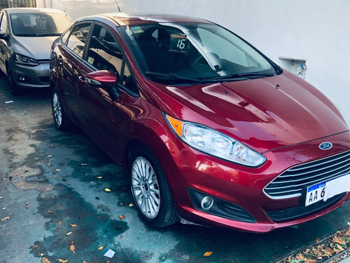 Ford Fiesta Kd Sedán Se Plus 2016 1.6. Imperdible!!!