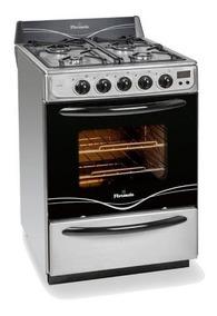 Cocina Florencia 56 Cm 5558a Multigas Autolimpiante + Ctas
