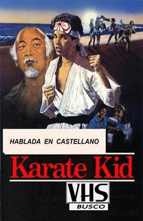 Vhs Karate Kid Doblada En Español Busc0 Compr0