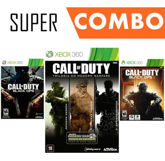 Call Of Duty 5 Em 1 - Xbox 360 Mídia Digital Original