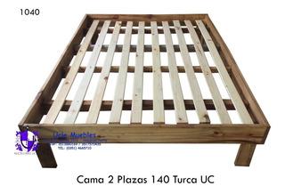 Cama 2 Plazas Turca Eco.