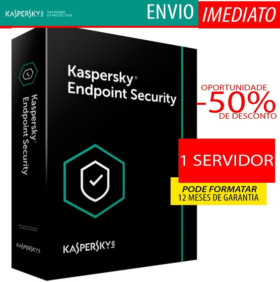 Kaspersky Endpoint Security 1 Servidor 1 Ano