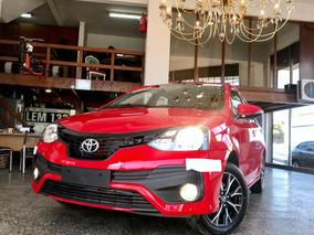 Toyota Etios 4 Ptas 1.5nafta Xls Linea/nva L/18 , Anticipo $