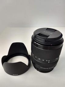 Lente Sony 18-135mm