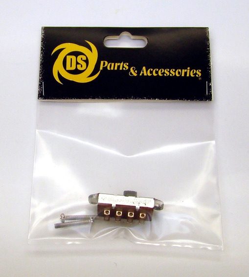 Slide Switch On-on-on Dp3t Mustang Duosonic Ds Parts Ds-a128