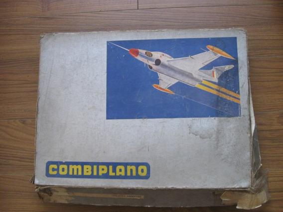 Antiguo Juguete Combiplano, Constructor, Tipo Meccano Avion