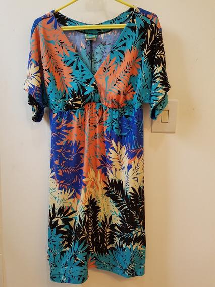 Vestido Tropical - Mercatto (tam. P)