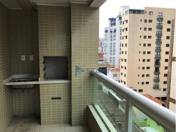 Apartamento De 2 Dormitórios Frente Mar No Canto Do Forte Em Praia Grande - R$ 460.000,00 - Ap0794