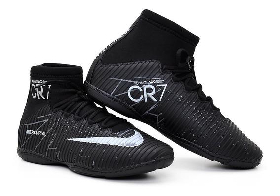 Chuteira Nike Botinha Futsal Sola Costurada Kit 2 Prs30% Off
