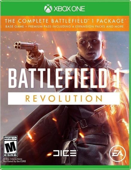 Jogo Battlefield 1 Revolution Xbox One Midia Fisica Dublado
