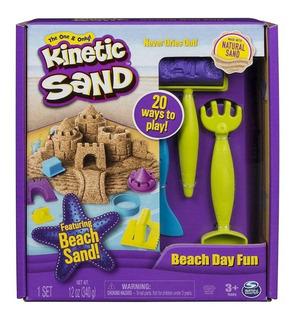 Kinetic Sand Arena Masa Diversion Del Dia De Playa Original