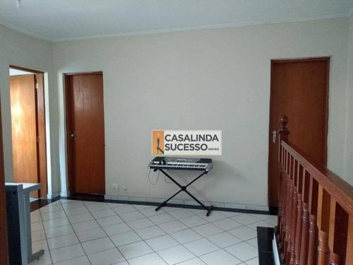 Sobrado Com 3 Dormitórios À Venda, 150 M² Por R$ 630.000,00 - Penha - São Paulo/sp - So1036