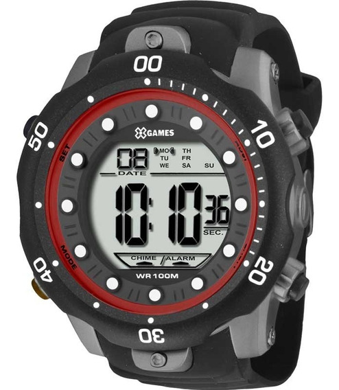 Relógio X Games Digital Masculino Xmppd355 Bxpx
