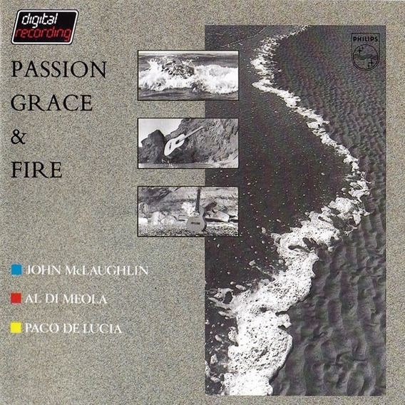 Di Meola Mclaughlin De Lucia Passion Grace & Fire Cd Import