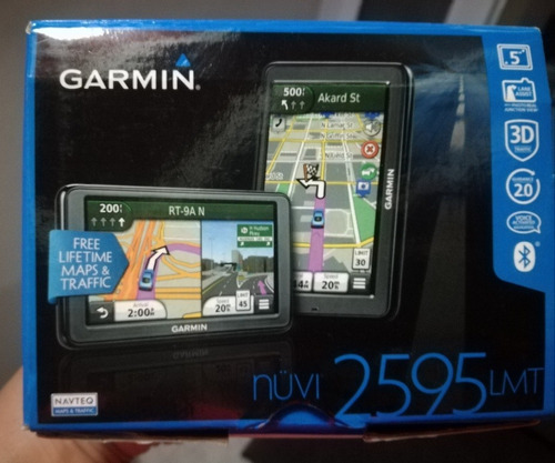 Gps Garmin Nuvi 2595 Lmt