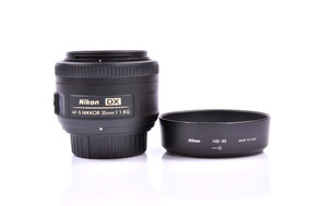 Lente Nikon 35mm 1.8g