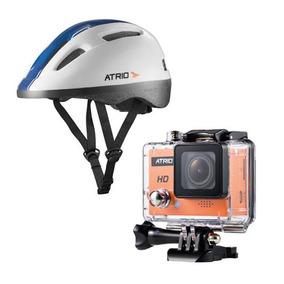 Camera Para Capacete Hd + Capacete Atrio