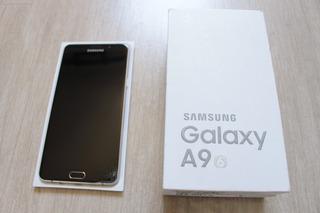 Samsung A9 2016 4gb Ram 32gb Vidro Trincado 100% Funcionando
