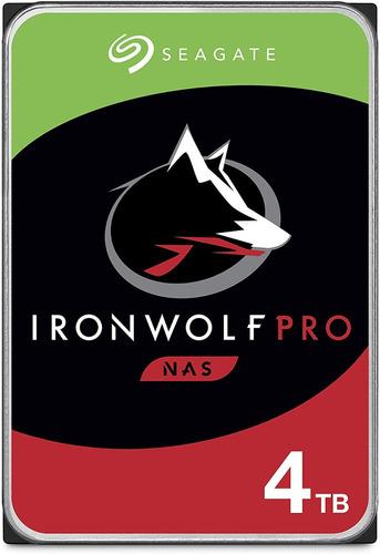 Seagate Ironwolf Pro Nas 4tb Disco Hdd Sata 6 Gb/s 3.5 In
